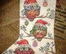 Сапожок новогодний совы