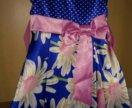 Нарядное платье 2-3года