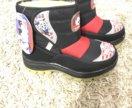 Зимние ботинки на девочку новые