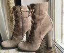 Новые замшевые ботинки (Италия)