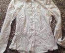 Блузка для девушек с баской