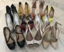 Отдаю всю коллекцию обуви 10 пар туфли босоножки