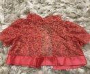 Платье в пол на девочку рост 140-150