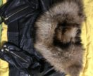 Кожаная куртка зимняя женская