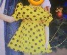 Платье матрёшка новогоднее