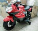 Детский электромобиль мотоцикл большой