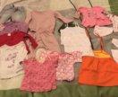 Пакетом Вещи на девочки от 1 года до 2 лет