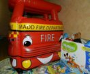 Надувная пожарная машина