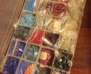 Бусины наборы в контейнере