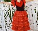 Платье «Испанка/Фламенко»/Прокат