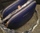 Новая синяя сумочка
