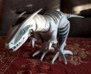 Интерактивный динозавр и звёздное небо.