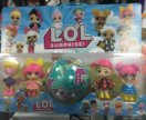 Куклы лол 5 в 1