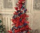 Ель красная - искусственная елка на 150 см - новая