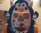 Ходунки-каталка пингвин