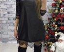 Платье чёрное 46 размер
