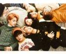 Наклейка BTS формата А 5