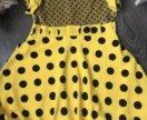 Платье талия 35, длина платья 66 см.