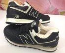 Кроссовки новые NB натуральные