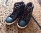 Утеплённые ботинки