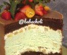 Торт с сыром дор блю