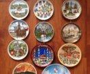 Коллекция настенных тарелочек