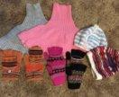 Детские перчатки, шапки, шарфы