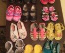 Пакет обуви, сандали, ботинки, шлепанцы, мокасины