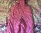 Тёплые штаны на девочку 1,5-2,5годика