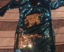 Платье двухсторонние пайетки
