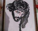 Иисус вышитая картина крестиком
