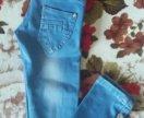 модные джинсы 7-8 лет