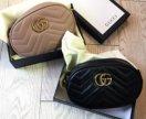 Gucci marmont сумка на пояс