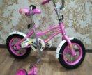 Велосипед для девочек до 6 лет