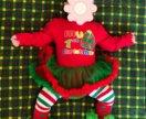 Детский новогодний костюм 4-6 месяцев
