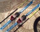 Ботинки для лыж и лыжи