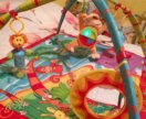 Развивающий коврик Tiny Love Остров муз. обезьянки