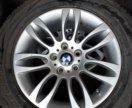 Литые диски R17 + резина на BMW X5