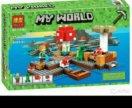 Bela Minecraft Грибной остров 10619 253 дет