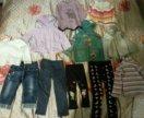 Вещи для девочки р.80-86 пакетом