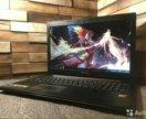 Игровой тонкий мощный 4-х ядерный ноутбук lenovo