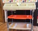 Пеленальный столик Bambino Moretti с ванночкой
