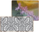Силиконовый коврик для кружев из айсинга / мастики