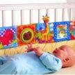 Бортики развивающие в детскую кроватку новые