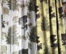 Новые шторы 2шт натуральный хлопок Турция