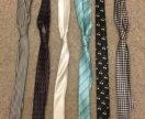 Атласные галстуки