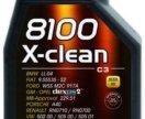Motul 8100 X-clean 5w40, 4 литра