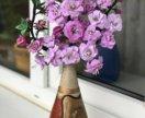 Ветка цветущей яблони ручная работа