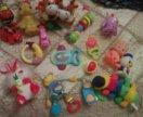 Игрушки для малышей набором