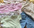 Одежда на девочку от 0 до 6 месяцев